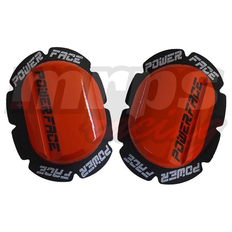 Sliders en bois Power-Face K1 (rouge)