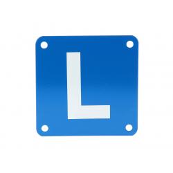 """Plaque élève conducteur """"L""""..."""