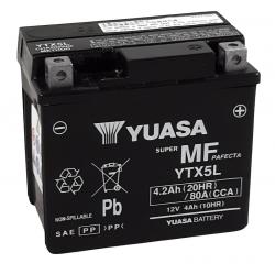 Batterie Yuasa YTX5L