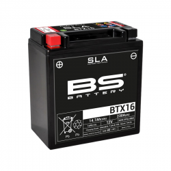 Batterie BS Battery BTX16 SLA