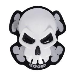 Sliders Oxford Skull (blanc)