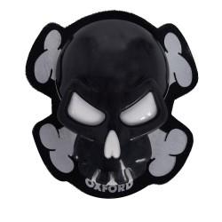 Sliders Oxford Skull (noir)