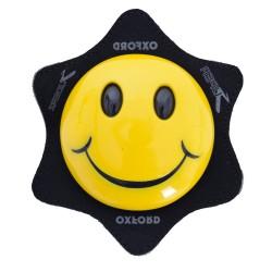 Sliders Oxford Smiley (jaune)