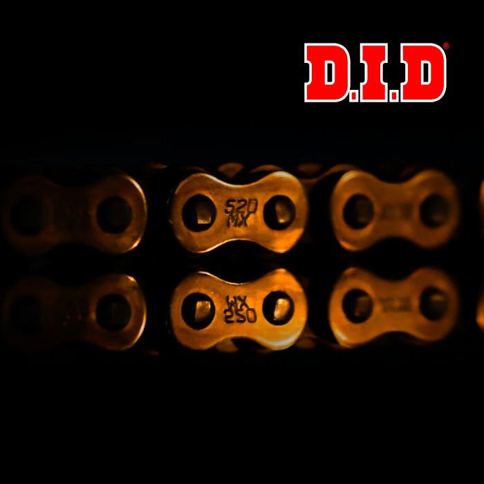 Gamme complète chaînes de transmission D.I.D