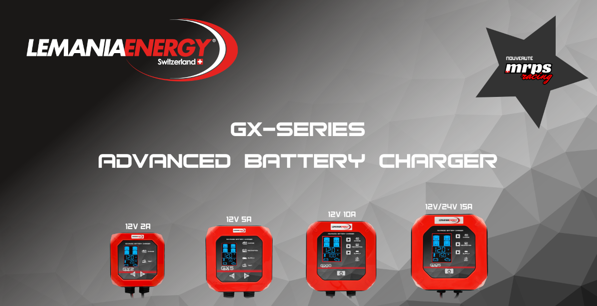 Chargeurs Lemania Energy GX Series