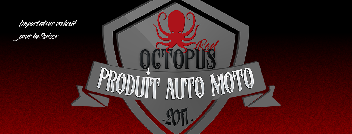 Lingettes nettoyantes moto Red Octopus Ultra